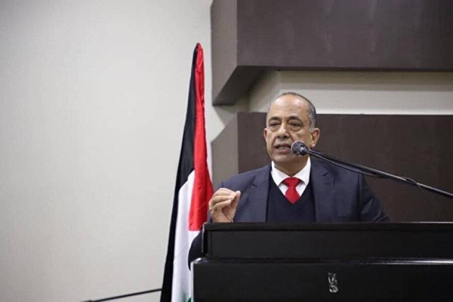 Filistin Adalet Bakanı Muhammed Fehd eş-Şelalde.