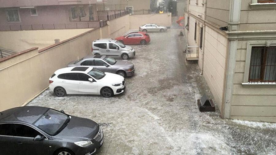Dolu yağışına karşı uyarı yapıldı