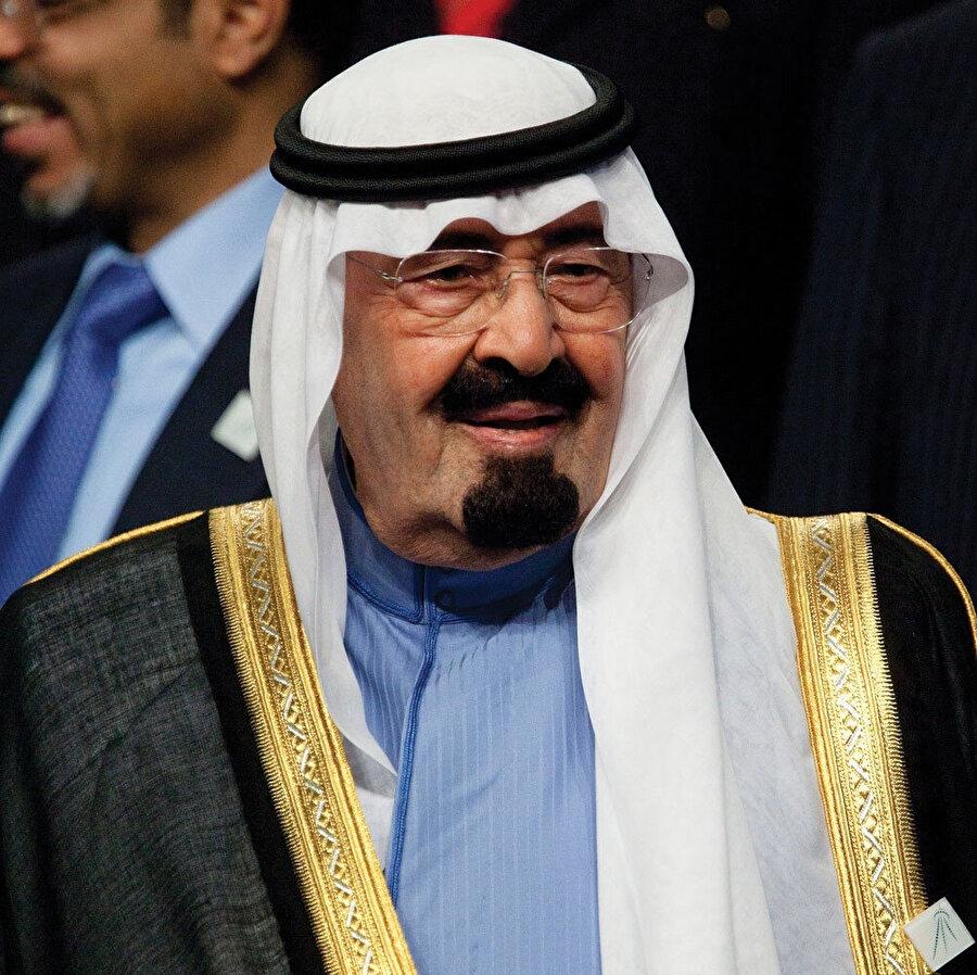 Kral Abdullah bin Abdülaziz.