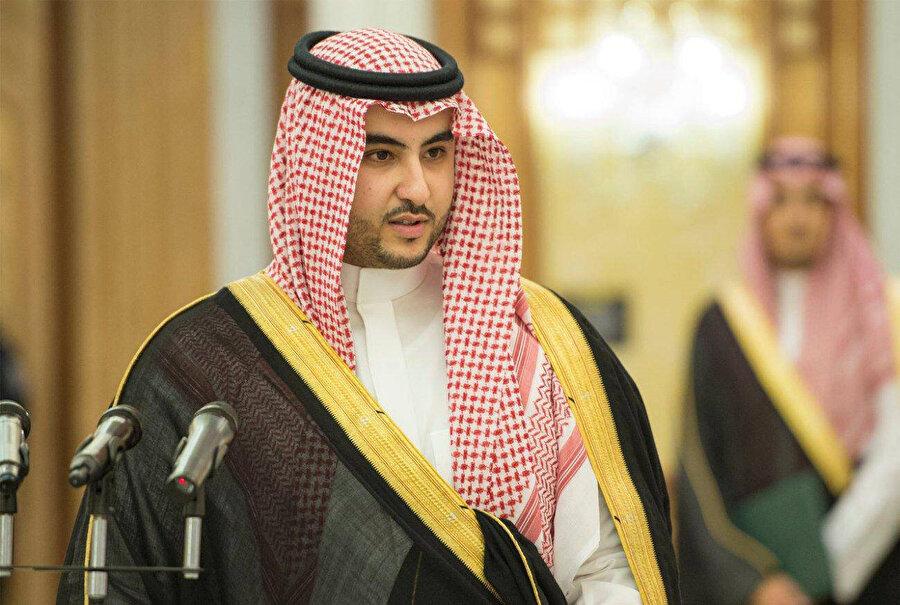 Yardımcı veliaht olarak atanması beklenen ancak atanmayan Washington Büyükelçisi Prens Halid bin Selman.