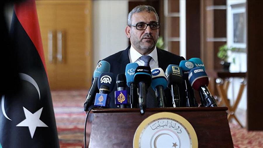 Libya Devlet Yüksek Konseyi (DYK) Başkanı Halid el-Mişri.