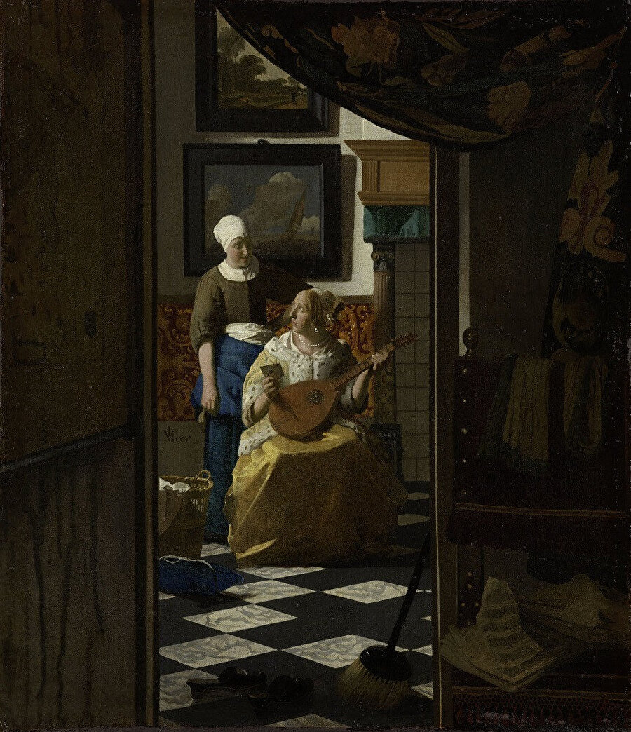The Love Letter, 1667-1670.