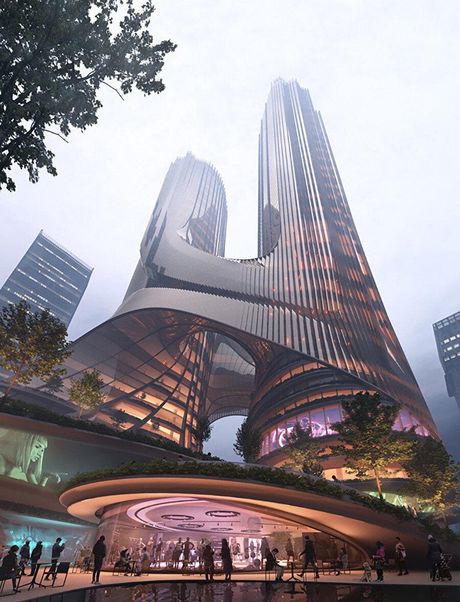 Tower C dikey bir şehir olarak tasarlanıyor.