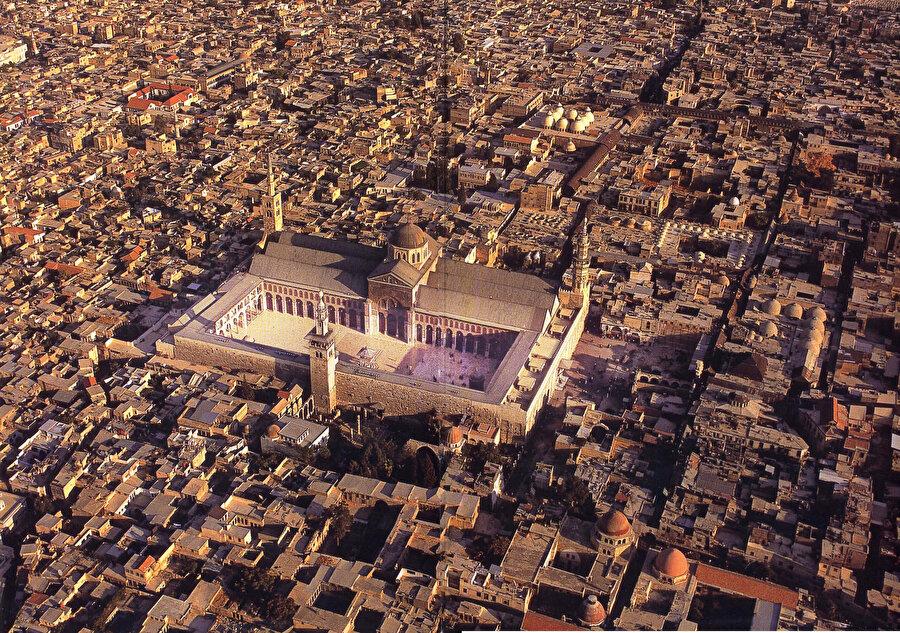 Şam'ın genel görünümü.