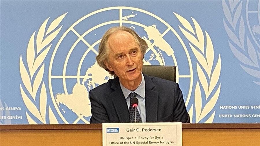 Birleşmiş Milletler Suriye Özel Temsilcisi Geir Pedersen.