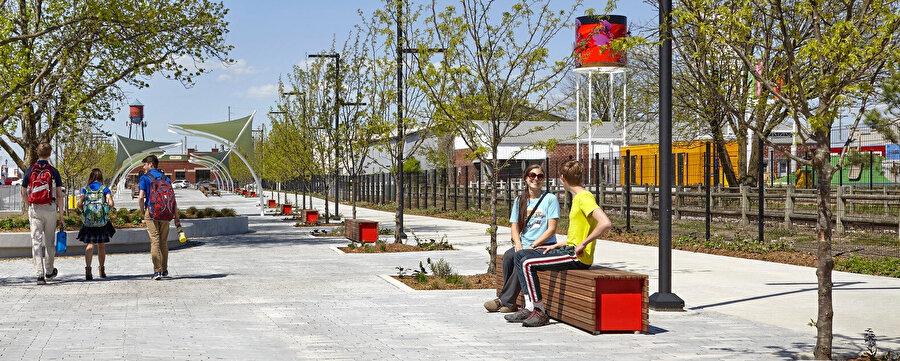 Railyard inşaatından sonra ana cadde boyunca yer alan gayrimenkuller, %70 doluluk oranına ulaşıyor.
