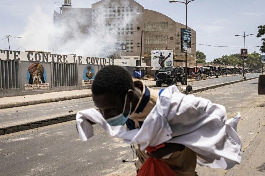 Yasa tasarısına karşı 25 Haziran'da Senegal'in başkenti Dakar'da protestolar düzenlenmişti.