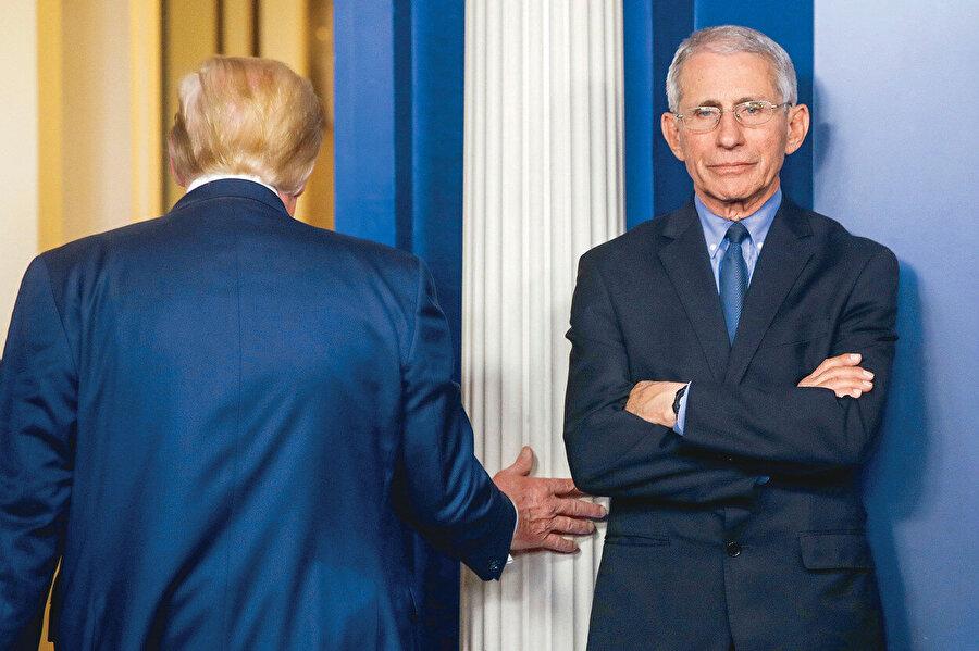 Fauci, Beyaz Saray'da tam 6 başkan eskitti ve 7'ncisi ile çalışmaya devam ediyor.