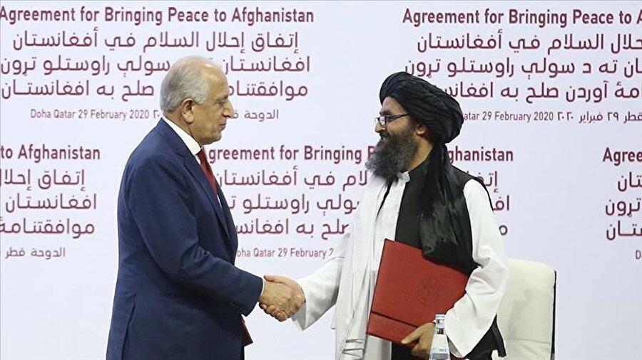 ABD'nin Taliban'la 29 Şubat 2020'de barış anlaşması imzalayarak ülkedeki tüm yabancı güçlerin çıkması için verdiği söz, ülke için dönüm noktası oldu.