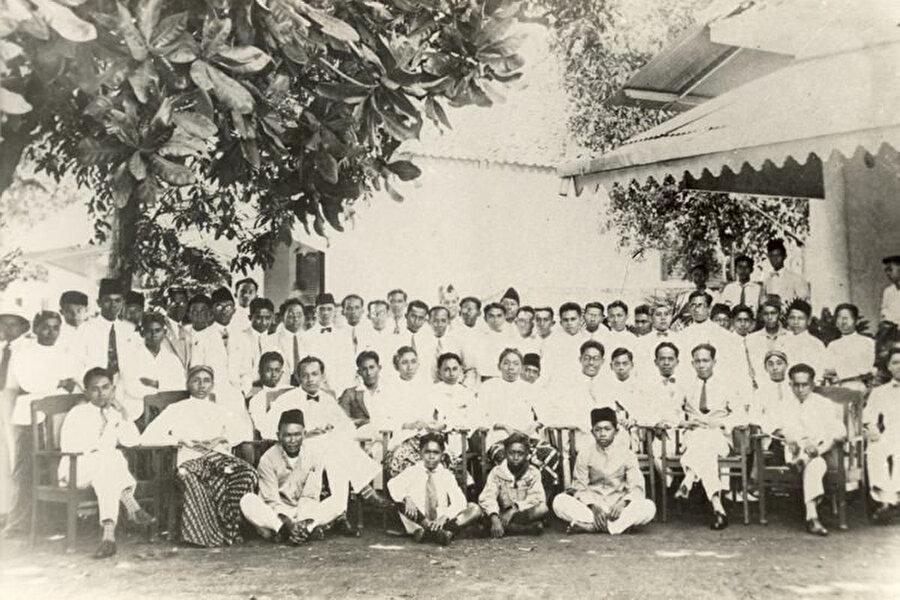 1928'de düzenlenen Gençlik Kongresi.