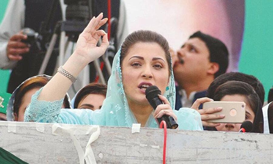 PML-N Genel Başkan Yardımcısı Meryem Navaz seçimlere itiraz eden açıklamalarda bulundu.