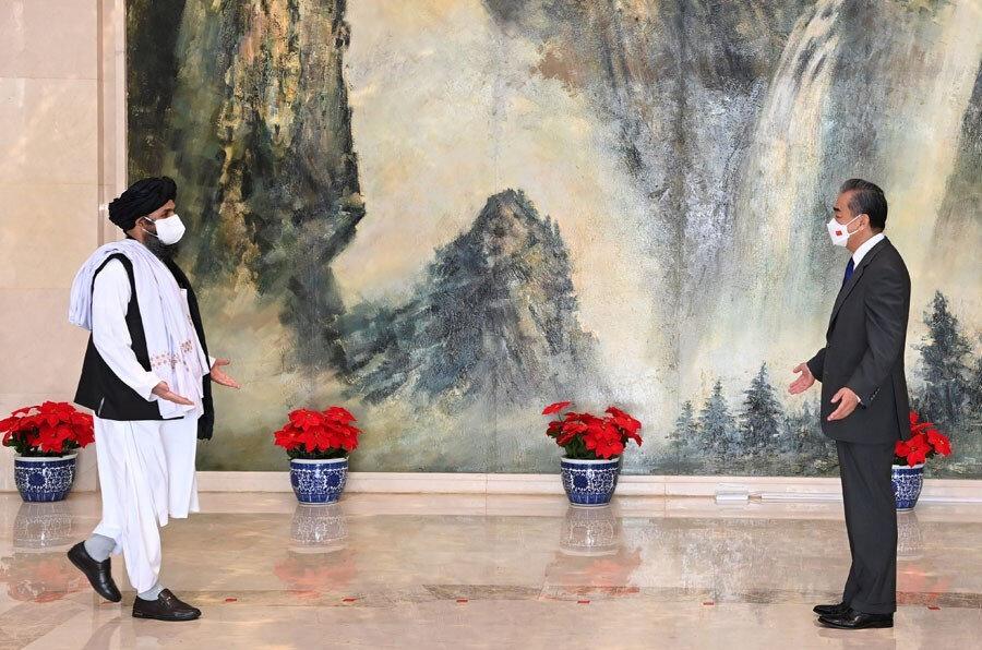 Taliban ve Çin karşılıklı içişlerine saygı açıklamalarında bulundu.
