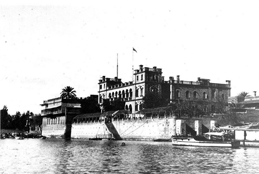 1911 yılında Gertrude Bell tarafından çekildiği bilinen bir Bağdat fotoğrafı.