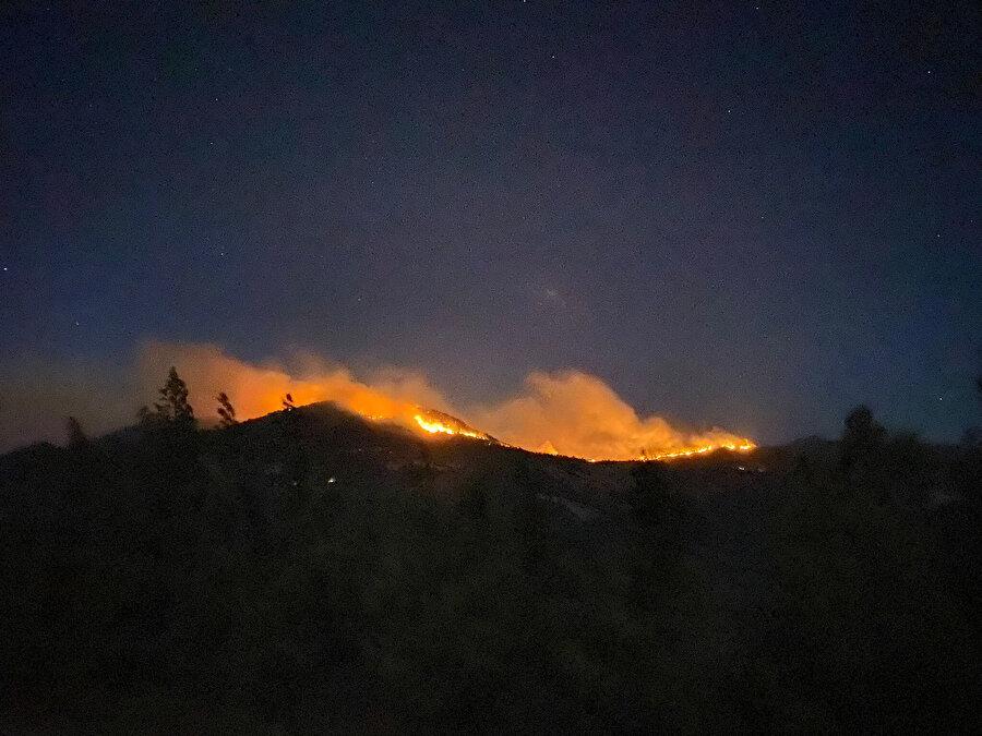 Gazipaşa'da 4 farklı noktada orman yangını çıktı