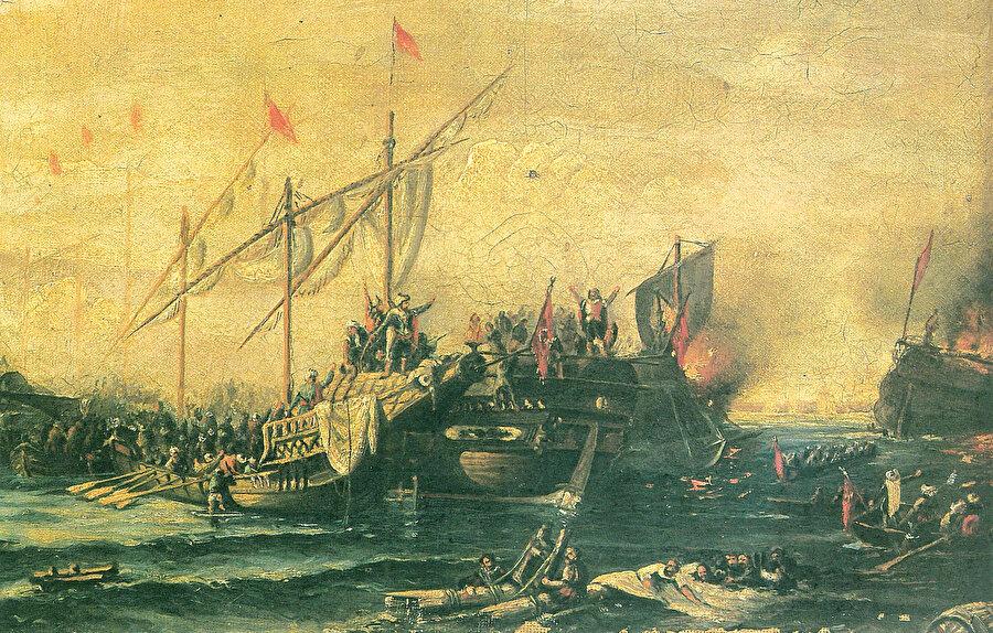 » Dönüm noktası: Osmanlı denizciliği açısından bir dönüm noktası olan Preveze Deniz Savaşı ile Akdeniz'de Osmanlı hâkimiyeti kesinleşmişti.