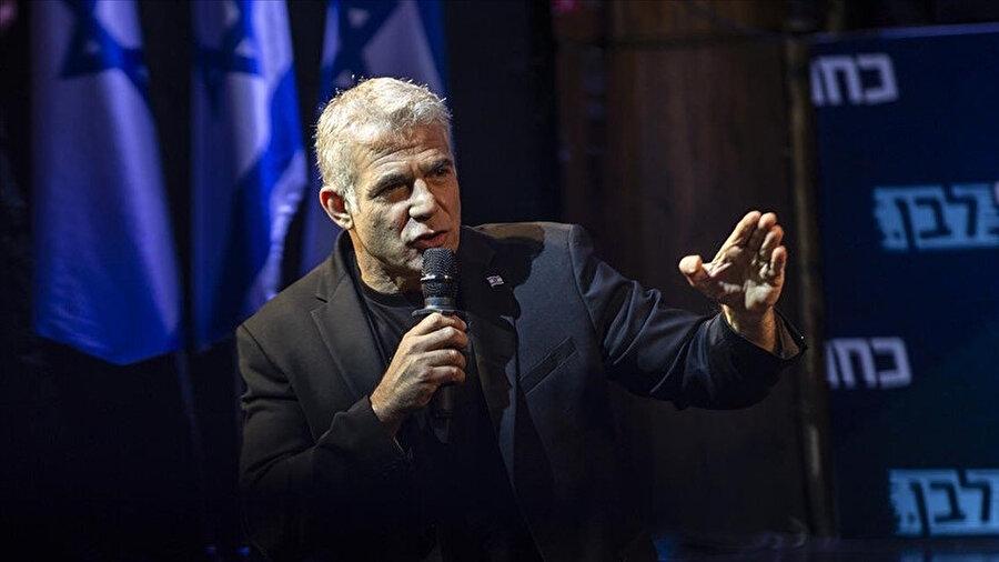 İsrail Dışişleri Bakanı Yair Lapid.