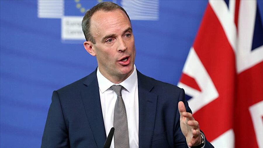 İngiltere Dışişleri Bakanı Dominic Raab.