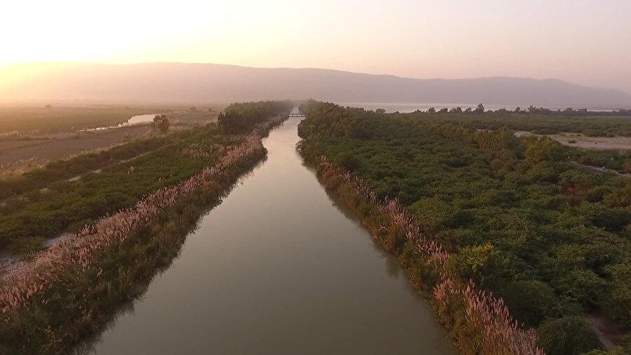 Pakistan'ın yüzlerce yıllık sulama kanallarından biri.