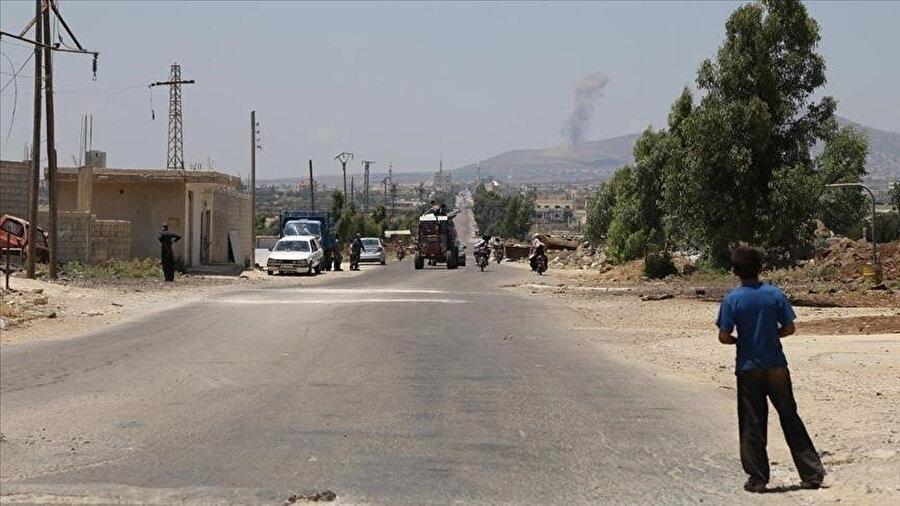 Dera el Beled Mahallesi 25 Haziran'dan bu yana rejimin ağır kuşatması altında.