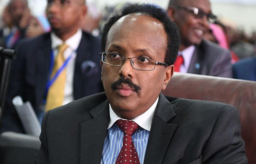 Somali'nin 2017'de seçilen Cumhurbaşkanı Muhammed Abdullah Fermacu.