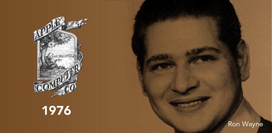 İlk logonun Tasarımcısı Ron/Ronald Wayne - 1976.
