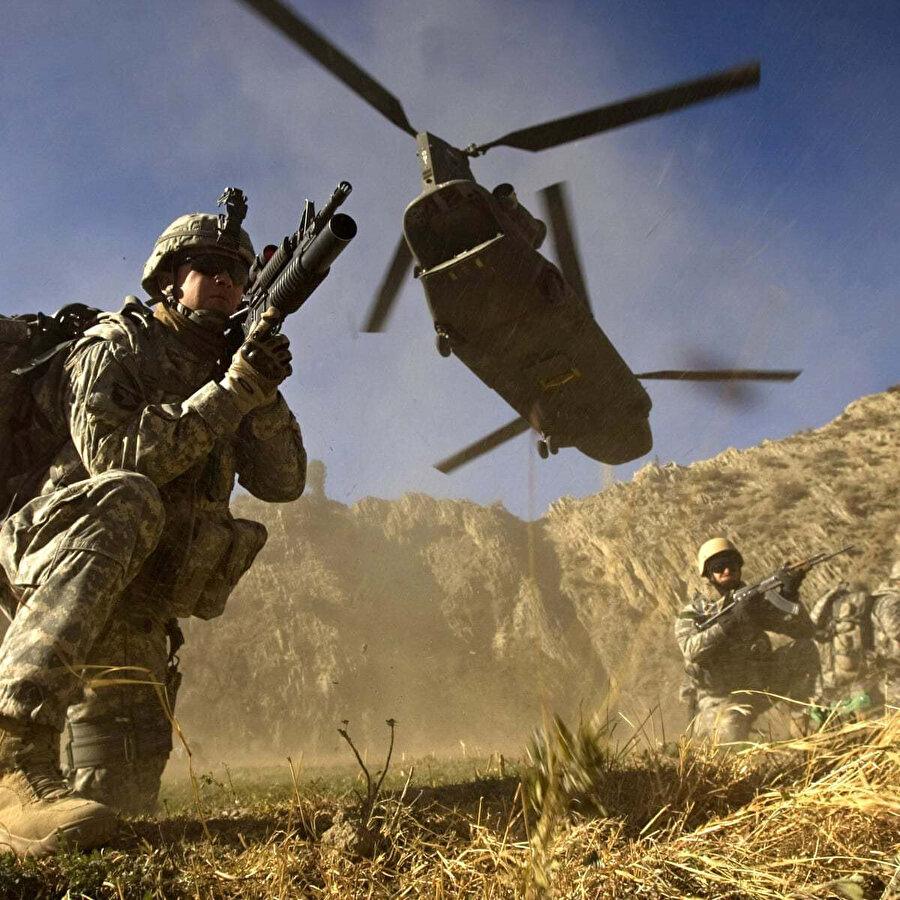 ABD'nin Afganistan'daki askeri operasyonları.
