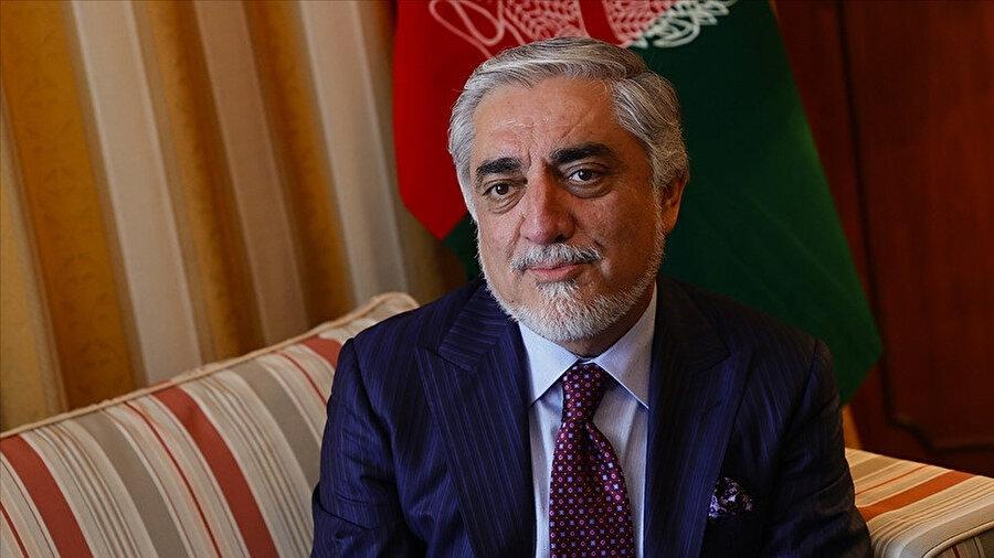 Afganistan Milli Uzlaşı Yüksek Konseyi Başkanı Abdullah Abdullah.