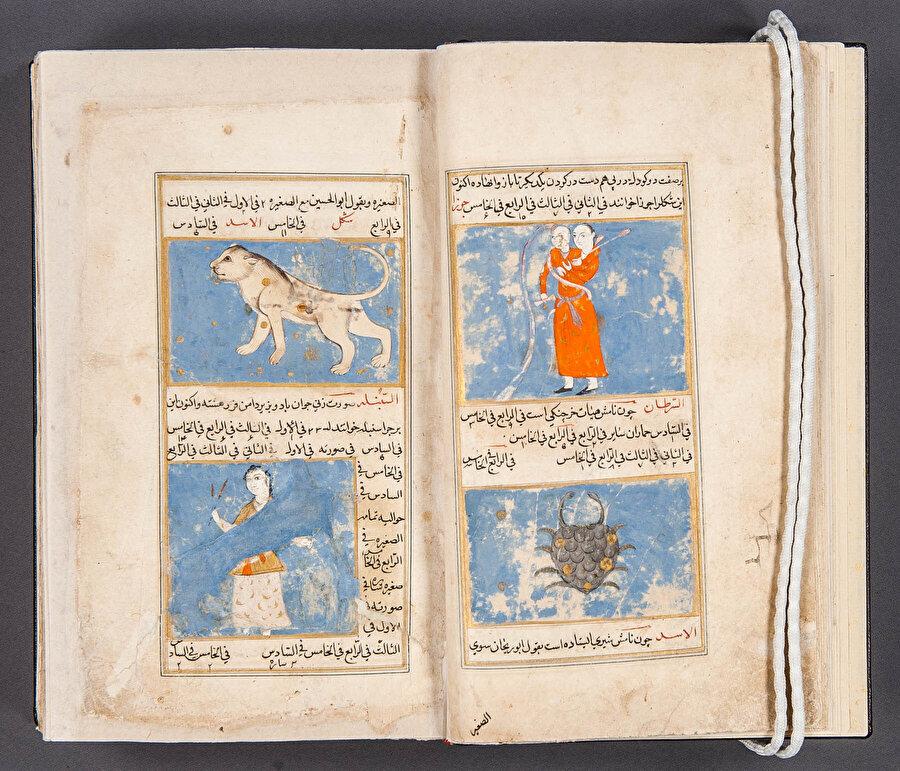 ABD'deki Kongre Kütüphanesi'nde bulunan bir Acaib'ül Mahlukat kitabı.