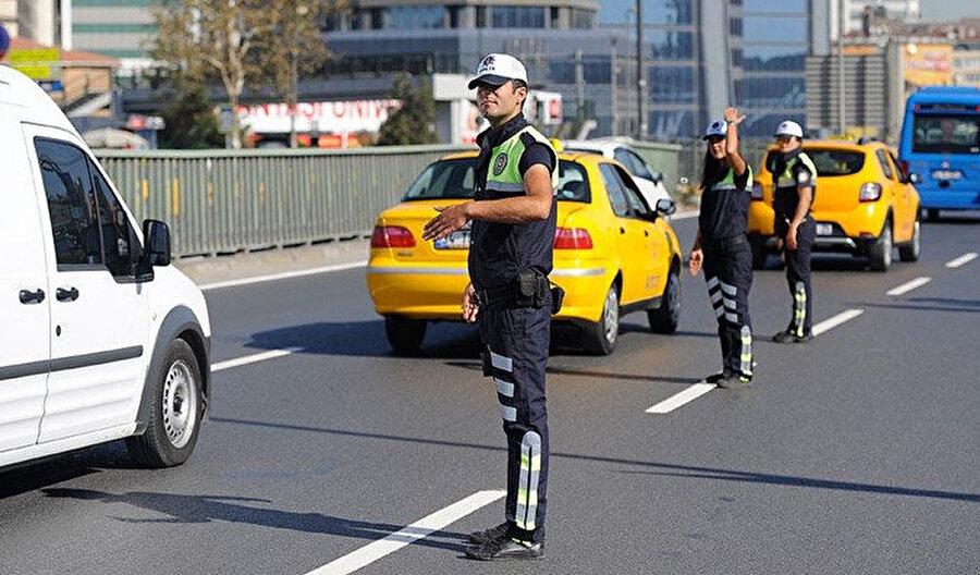 Sürücüler alternatif yollara yönlendirilecek