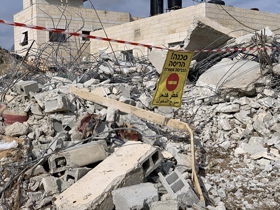 İsrail aynı uygulamalarla kayıtlara göre, Doğu Kudüs'te 1967'den beri 5 bin aileyi evsiz bıraktı.