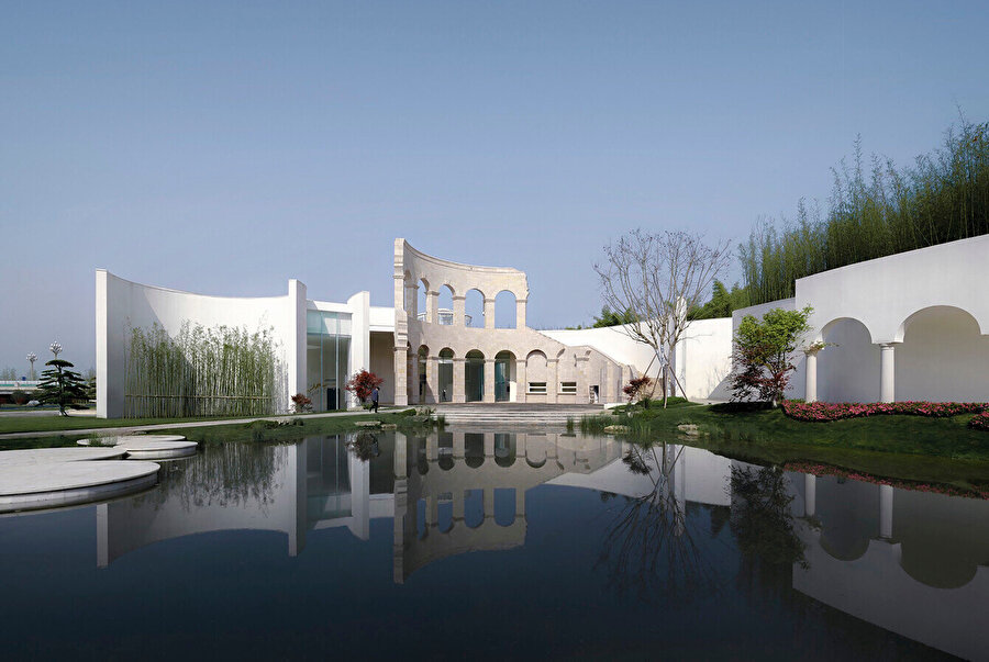 Sino-Italian Cultural Exchange City Reception Center.