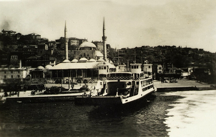 İstanbul Üsküdar İskelesi (1900).