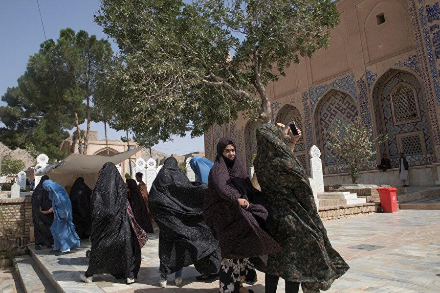 Afgan kadınlar, Herat