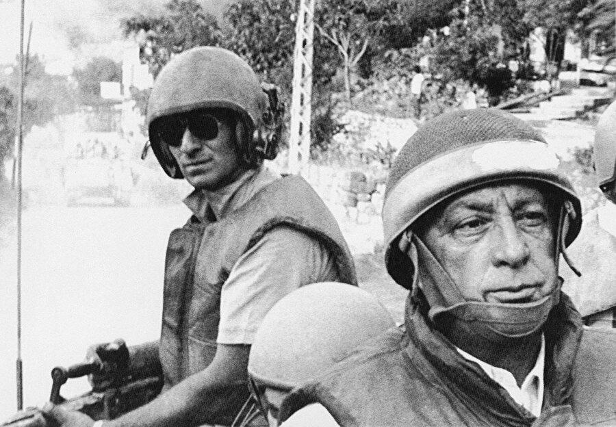 İsrail'in eski başbakanlarından Ariel Sharon, katliamın baş sorumlusu olarak gösteriliyordu.