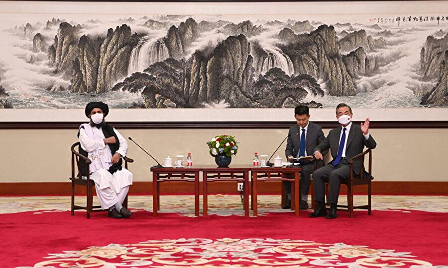 Taliban heyetinin Çin ziyareti.