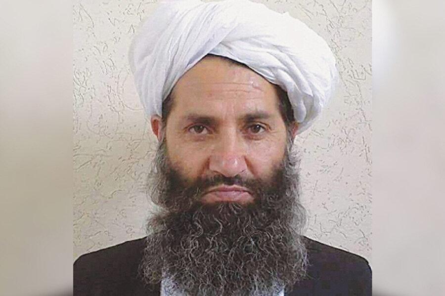 Taliban'ın lideri Molla Heybetullah Ahundzade.