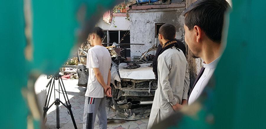 Tehdit altında olduklarını düşünen kurban yakınları Afganistan'dan gitmek istiyor.