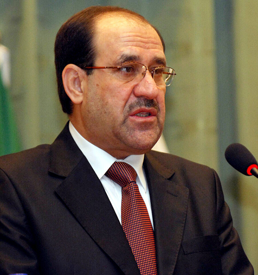 Irak'ta 2003 sonrası en uzun süreli (2006-2014) başbakanlık yapan Nuri Maliki.