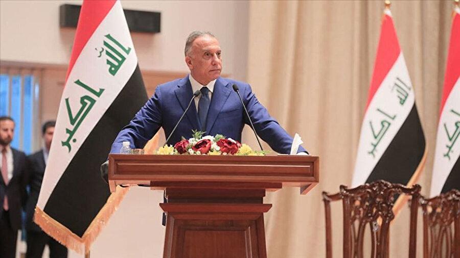 Irak'ın mevcut başbakanı Mustafa el-Kazımi.