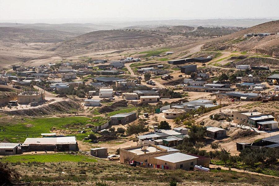 İsrail, araziye el konulma nedeni olarak arazinin doğal sit alanı olmasını öne sürüyor.