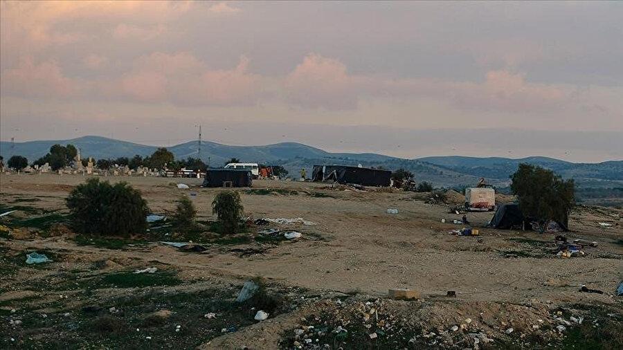 El konulan arazinin Beytullahim kentinin güneyindeki Kisar köyü yakınlarında olduğu belirtiliyor.