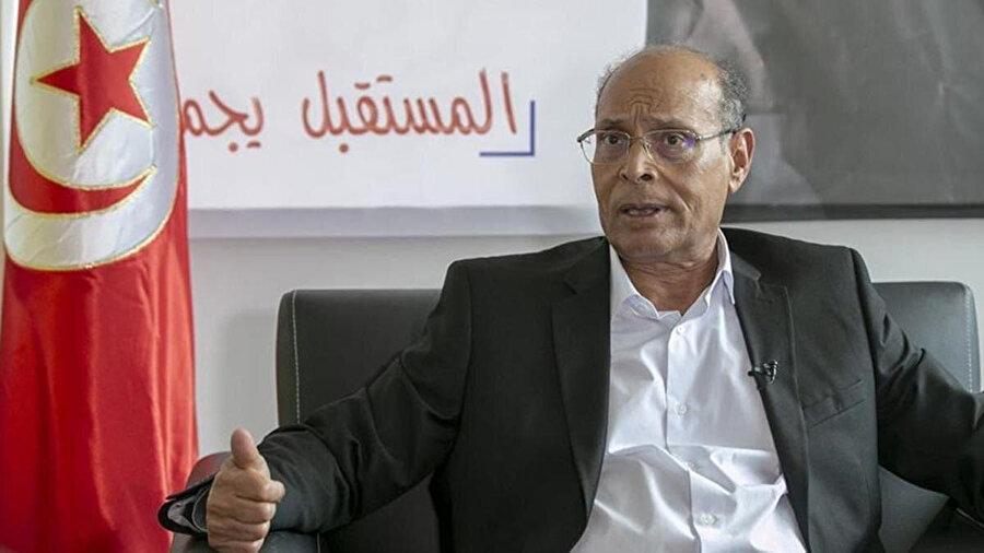 Eski Tunus Cumhurbaşkanı Munsif el-Merzuki.