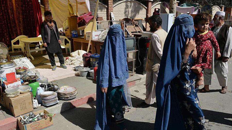 Taliban sonrası Kabil'de günlük hayat.