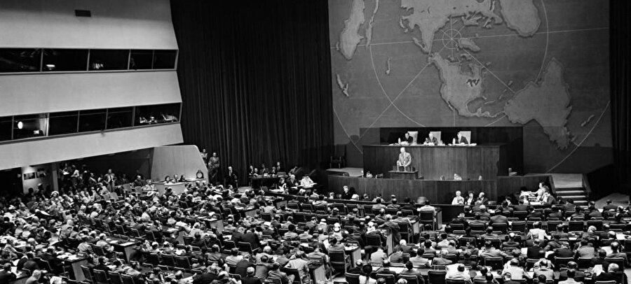BM'nin Filistin oylaması. 29 Kasım 1947.