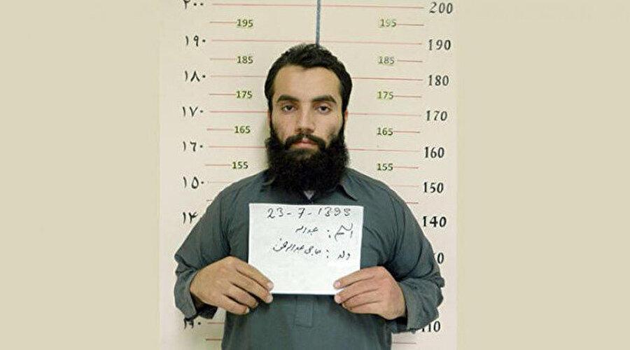 Enes Hakkani'nin cezaevi yıllarına ait bir fotoğraf.