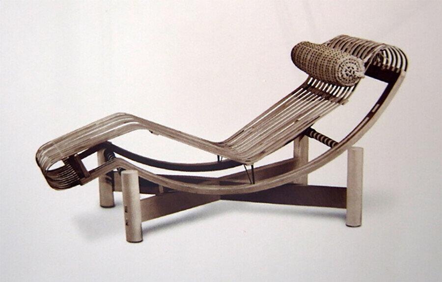 Bamboo Lounge Chair (1940).