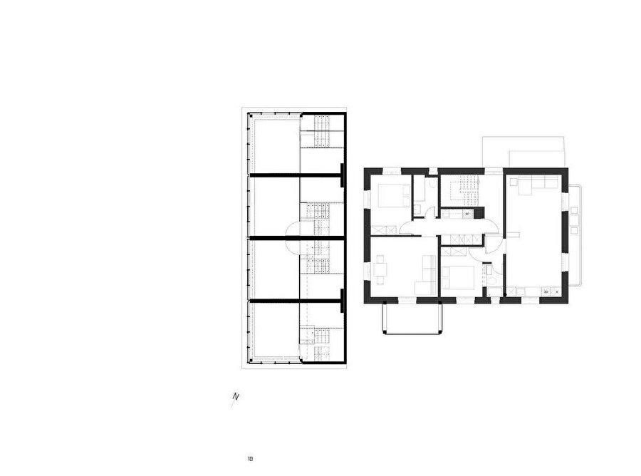Enet Evi planı.