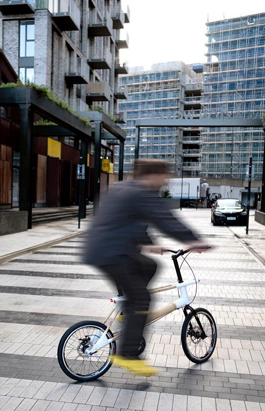 Tasarımın ölçeği şehir içi kullanımı kolaylaştırıyor.
