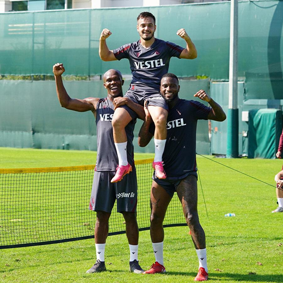 Trabzonspor, Fenerbahçe maçının hazırlıklarını sürdürdü
