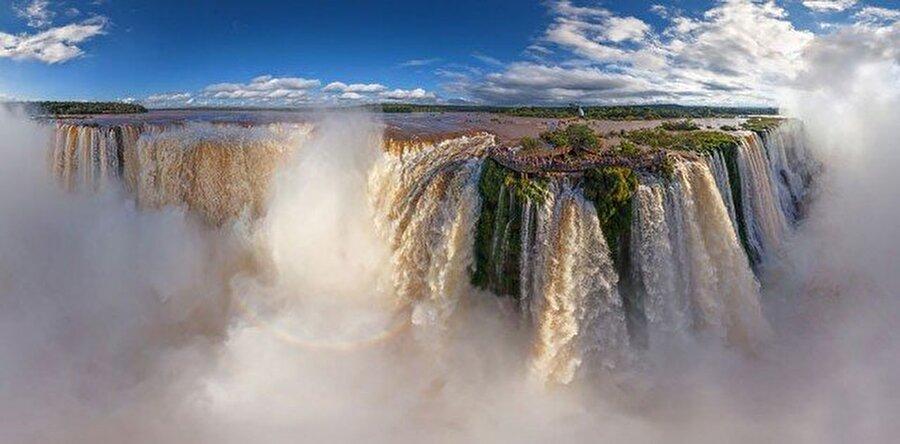Arjantin ve Brezilya/Iguasu Şelalesi